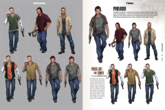 Page from The Art of The Last of Us
