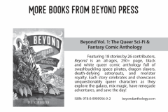 BEYOND II: The Queer Post-Apocalyptic & Urban Fantasy Comic Anthology Backlist