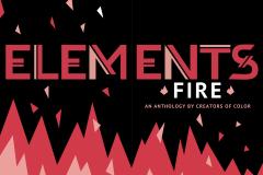 ELEMENTS: Fire Title Page (logo by Melanie Ujimori)