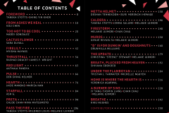 ELEMENTS: Fire Table of Contents